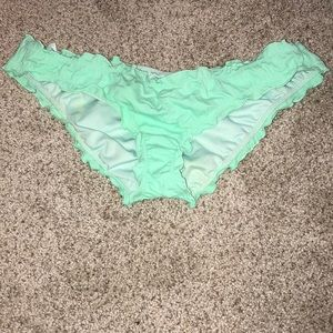 Victoria's Secret ruffle bathing suit bottoms